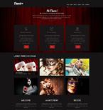 Entertainment WordPress Template 49288