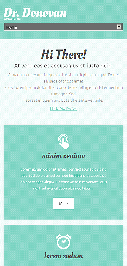 WordPress Theme/Template 49289 Main Page Screenshot