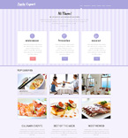 Cafe & Restaurant WordPress Template 49291