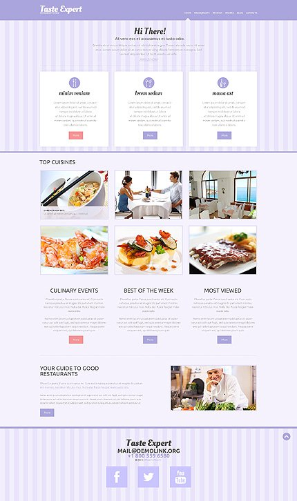 WordPress Theme/Template 49291 Main Page Screenshot