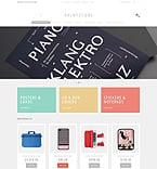 Art & Photography Magento Template 49292