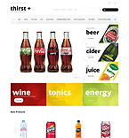 Food & Drink Magento Template 49293