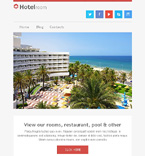 Hotels Newsletter  Template 49296