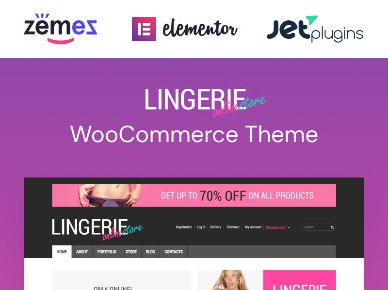 "WooCommerce Theme namens ""Damenwäsche"" New Screenshots BIG"