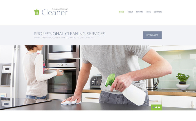 Cleaning Services WordPress Theme