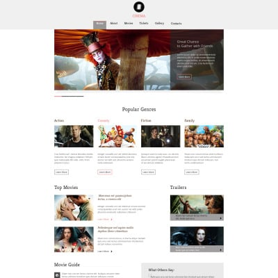 14+ Best Movie Website Templates