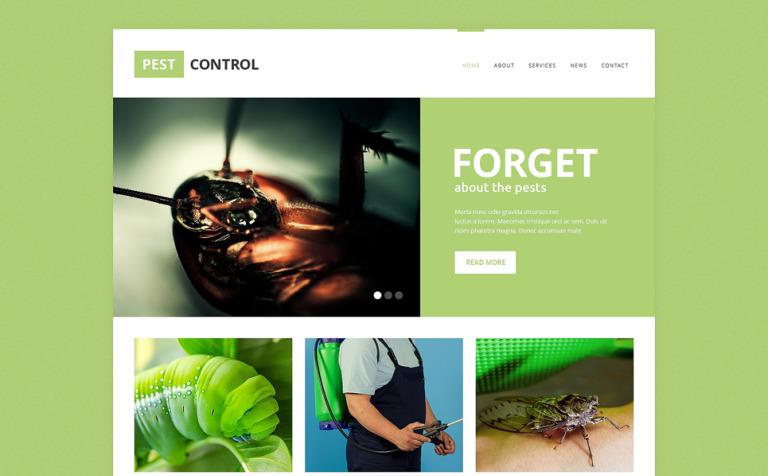 pest control responsive website template new screenshots big