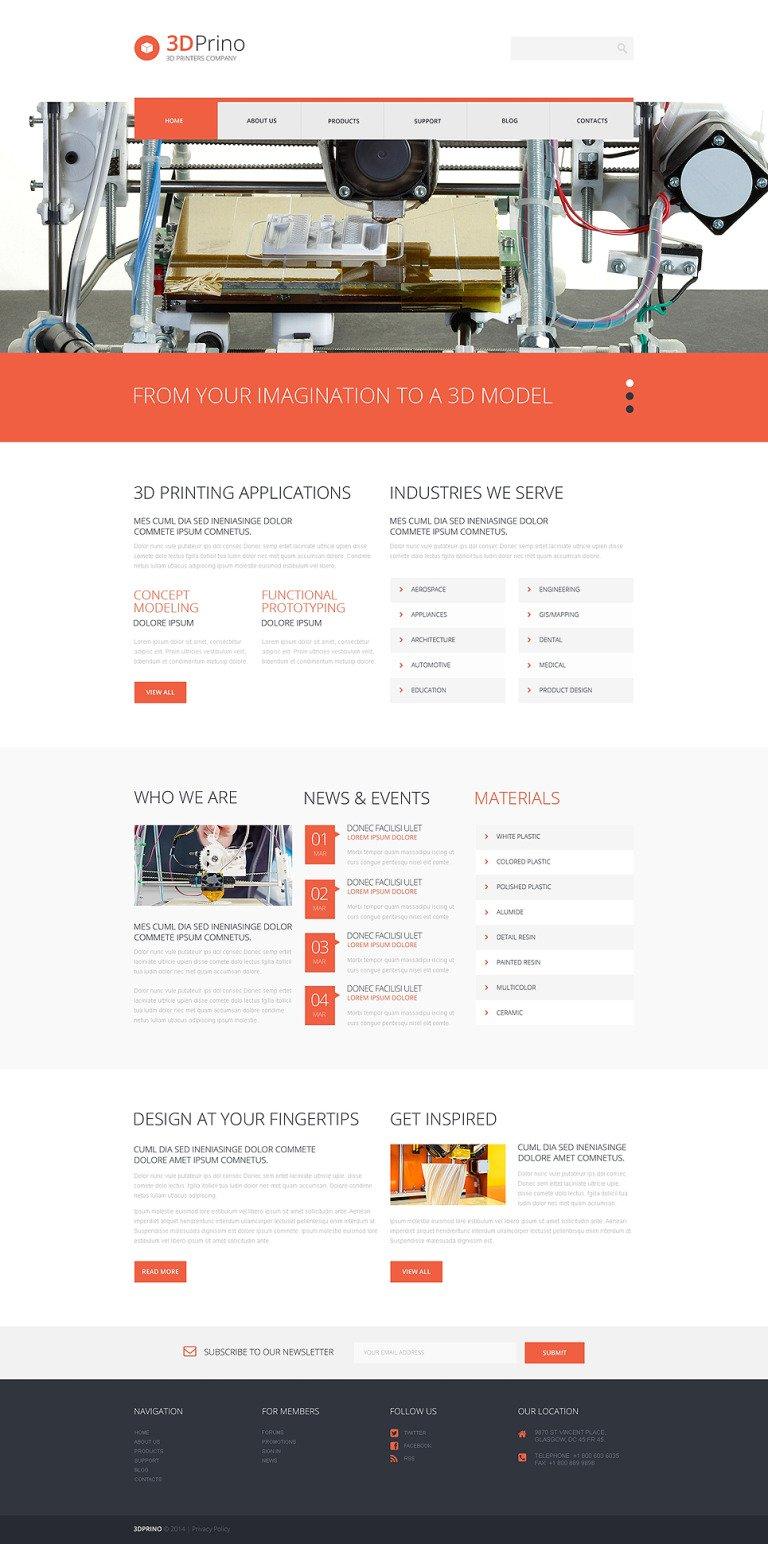 Print Shop Responsive WordPress Theme New Screenshots BIG