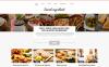Responsive Kafe ve Restoran  Joomla Şablonu New Screenshots BIG