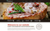 Responsive Website Vorlage für Steakhaus  New Screenshots BIG