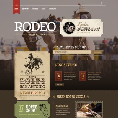 Horse Racing Responsive WordPress Thema