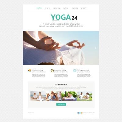 Yoga Responsive Joomla šablona