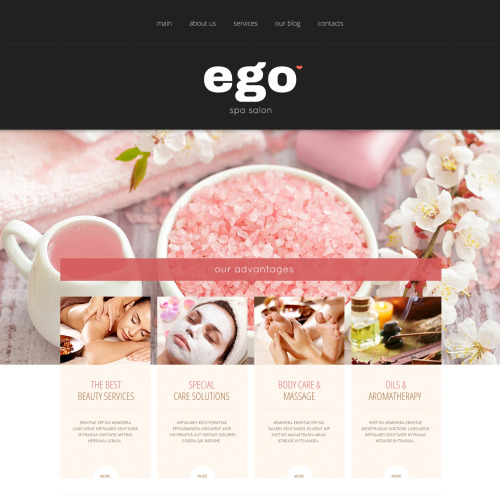 Ego - Joomla! Template based on Bootstrap