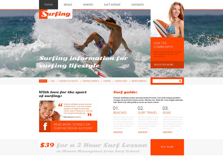 Surfing Responsive