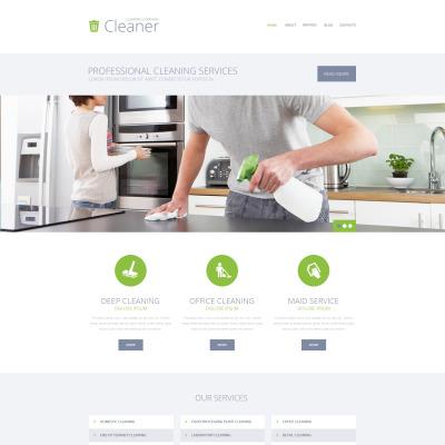 Plantillas WordPress para Sitios de Empresas de Limpieza