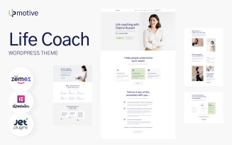 UpMotive - Life Coach WordPress Theme