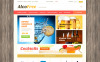 VirtueMart шаблон №49254 на тему напитки и еда New Screenshots BIG