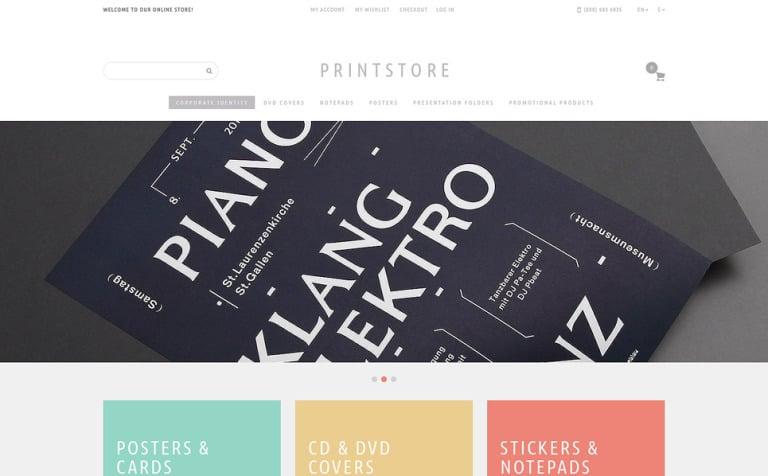 Your Print Store Magento Theme