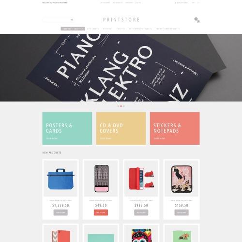 Print Store - Responsive Magento Template
