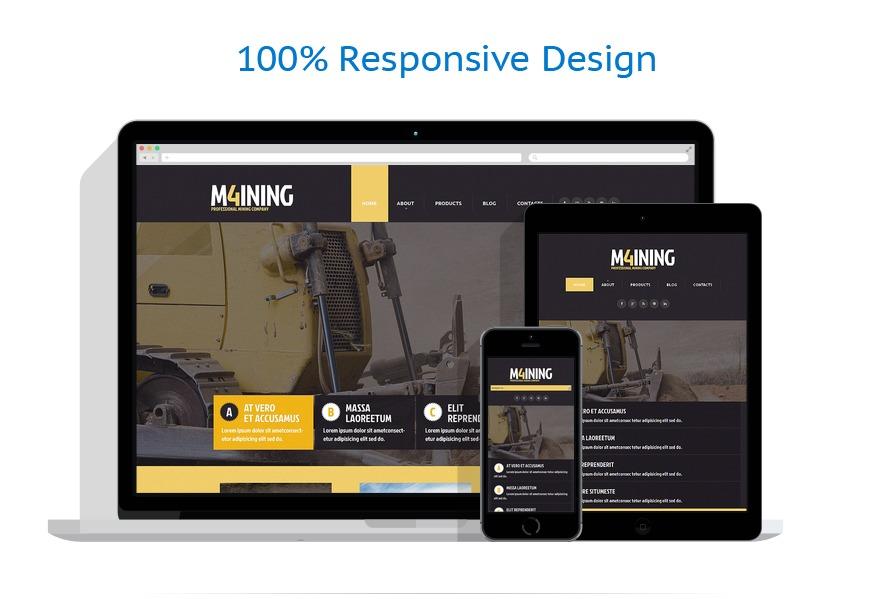 Modèles HTML5 Industriel #49301