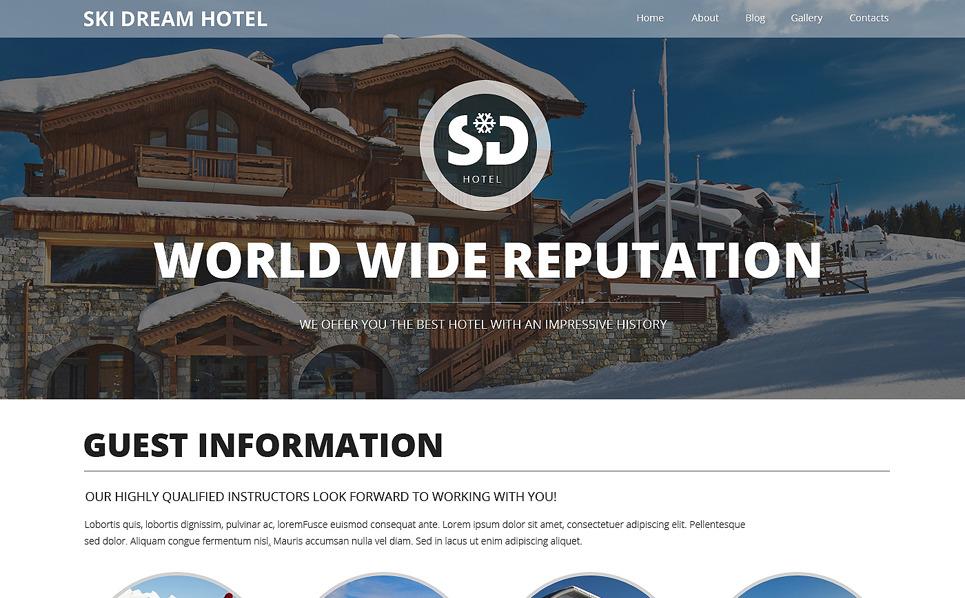 Responsywny szablon strony www #49302 na temat: hotele New Screenshots BIG