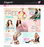 Fashion OpenCart  Template 49307