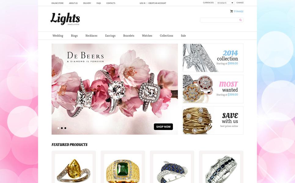 Thème VirtueMart  pour site de bijoux New Screenshots BIG