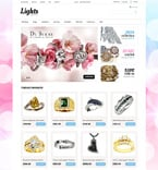 Jewelry VirtueMart  Template 49320