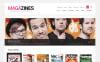 Responsivt WooCommerce-tema för nyhetsportal New Screenshots BIG