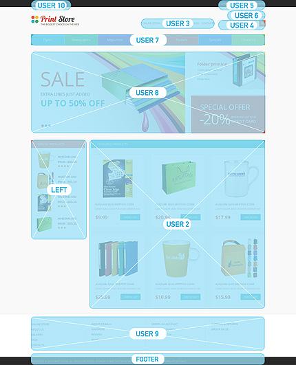 ADOBE Photoshop Template 49326 Home Page Screenshot