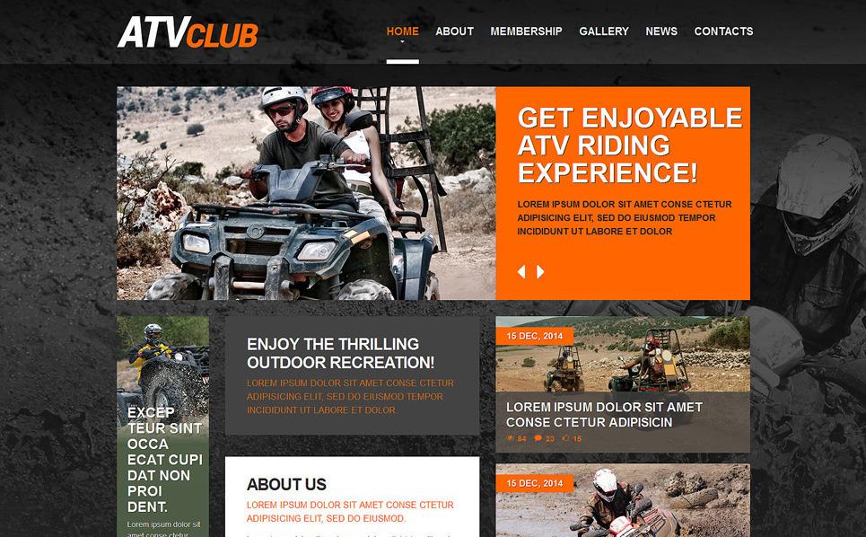 Reszponzív Motorsportok  Weboldal sablon New Screenshots BIG