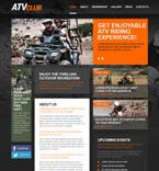 Sport Website  Template 49329