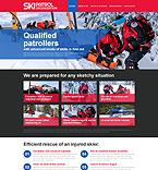 Sport Website  Template 49331