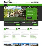 Real Estate Website  Template 49332