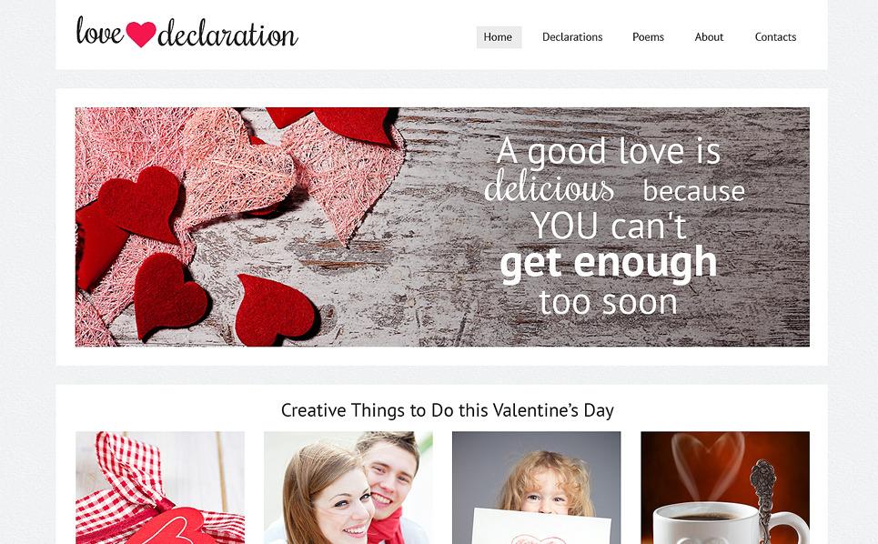 Responzivní Šablona webových stránek na téma Obchod dárků New Screenshots BIG