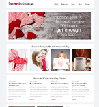 Gifts Website  Template 49337