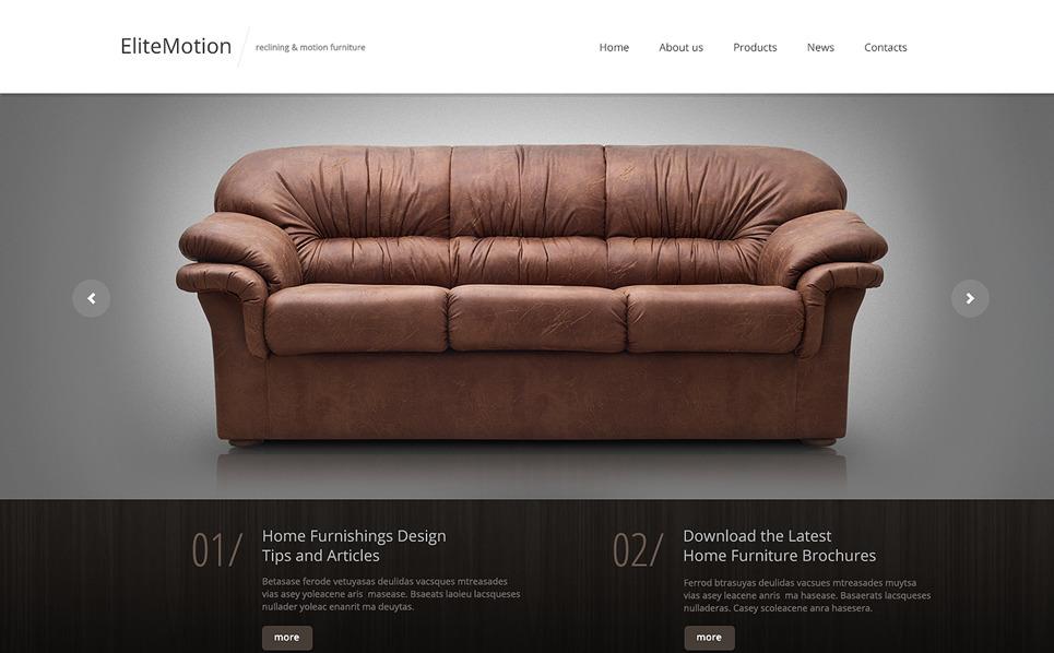 Reszponzív Bútorok Weboldal sablon New Screenshots BIG