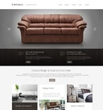 Furniture Website  Template 49338