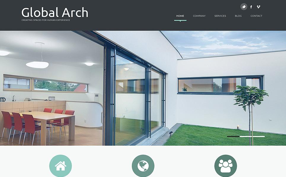 Template Joomla Flexível para Sites de Arquitetura №49343 New Screenshots BIG