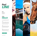 Art & Photography Photo Gallery  Template 49347