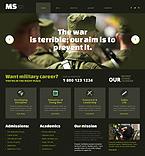Military WordPress Template 49362