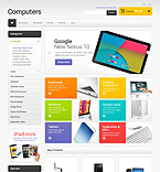 Computers Magento Template 49367