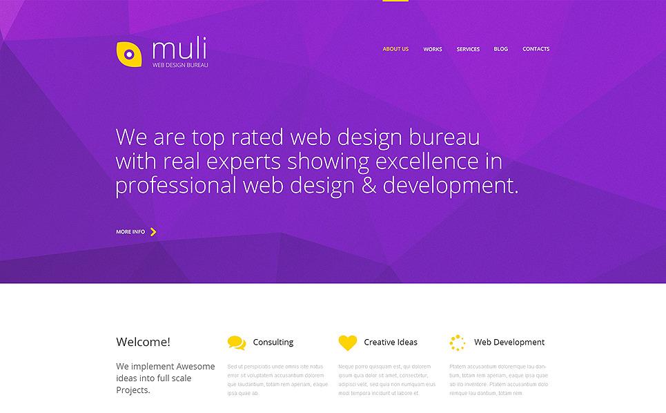 Responsywny szablon strony www #49383 na temat: web design New Screenshots BIG