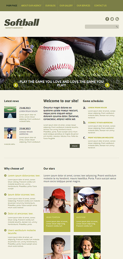 Joomla Theme/Template 49387 Main Page Screenshot