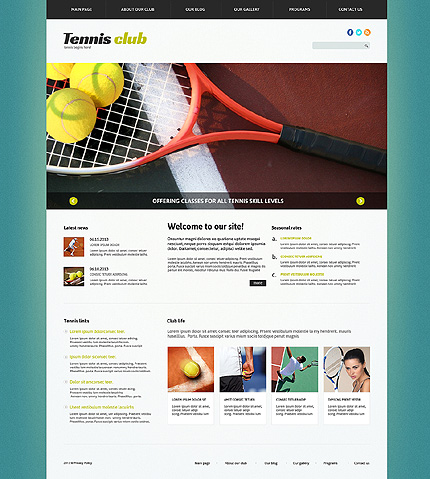 Joomla Theme/Template 49389 Main Page Screenshot