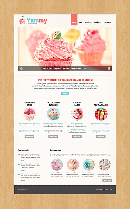 Joomla Theme/Template 49391 Main Page Screenshot