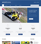 Sport WordPress Template 49397