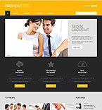 Web Hosting WordPress Template 49398