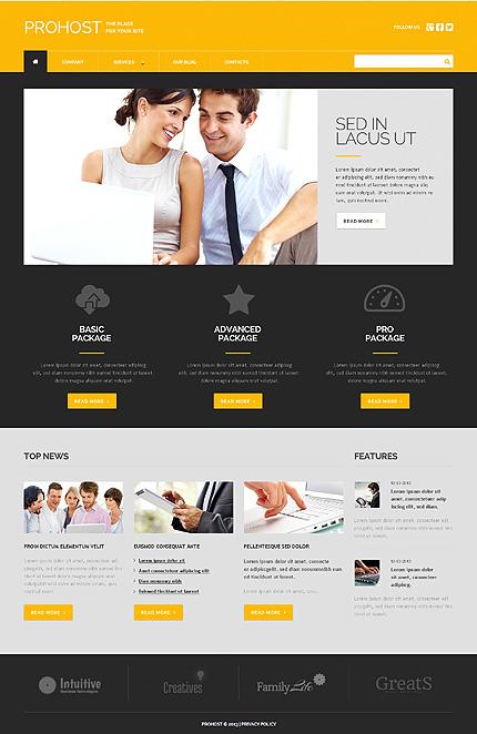 WordPress Theme/Template 49398 Main Page Screenshot