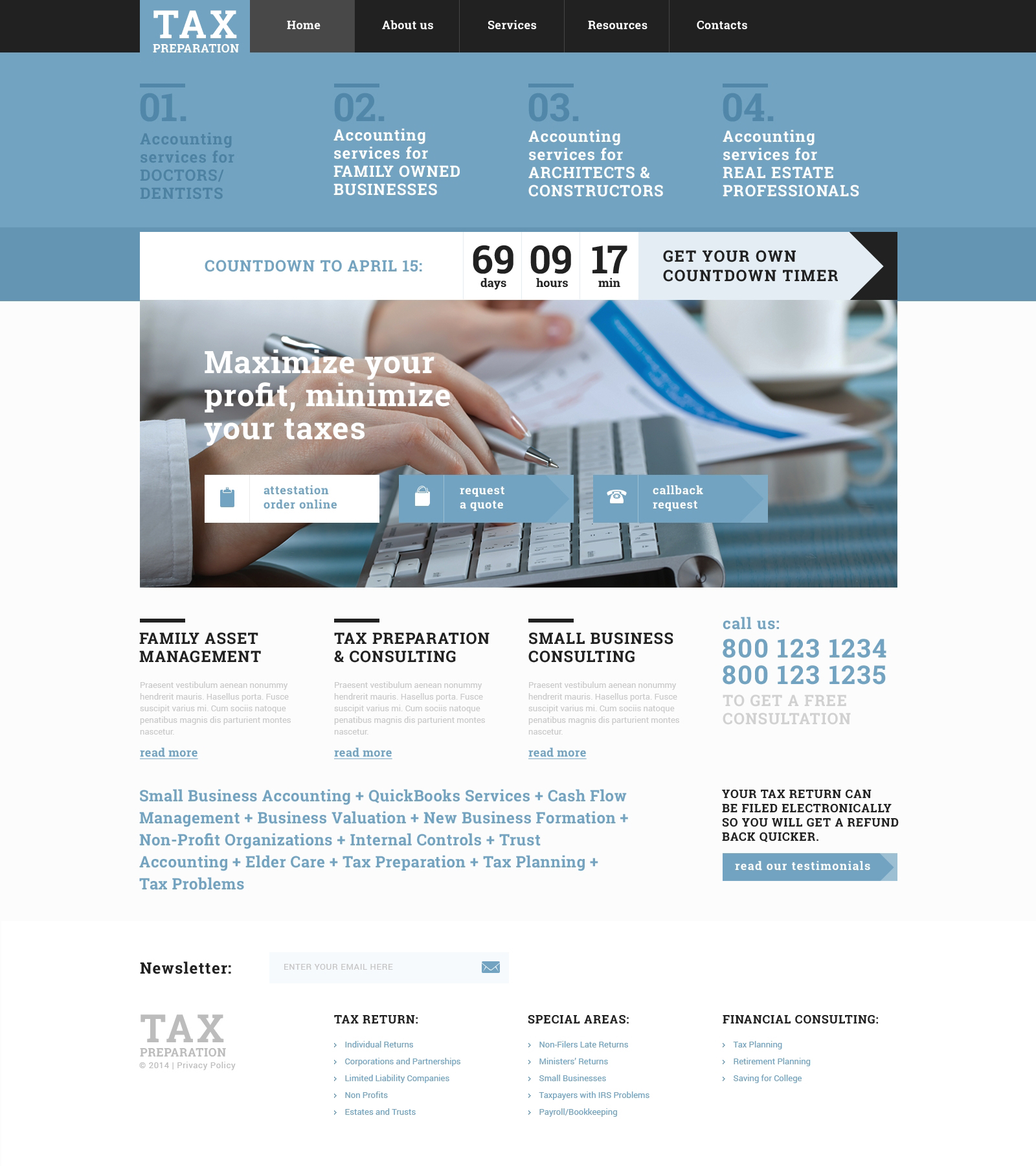 Accounting website responsive website template 49336 accounting website responsive website template maxwellsz